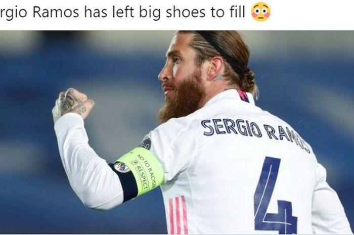 Tak Ada Pemain Precise Madrid yang Berani Ambil Kostum Nomor 4 Gantikan Sergio Ramos thumbnail