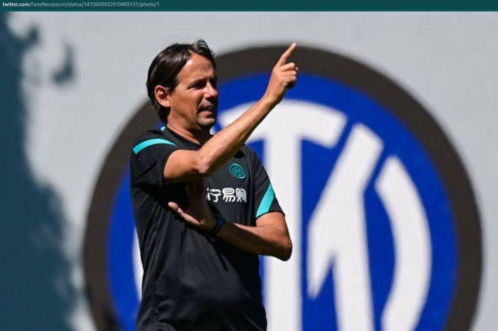 Pelatih baru Inter Milan, Simone Inzaghi.