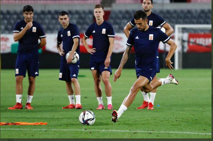 Timnas Spanyol bersiap tampil di Olimpiade 2020.
