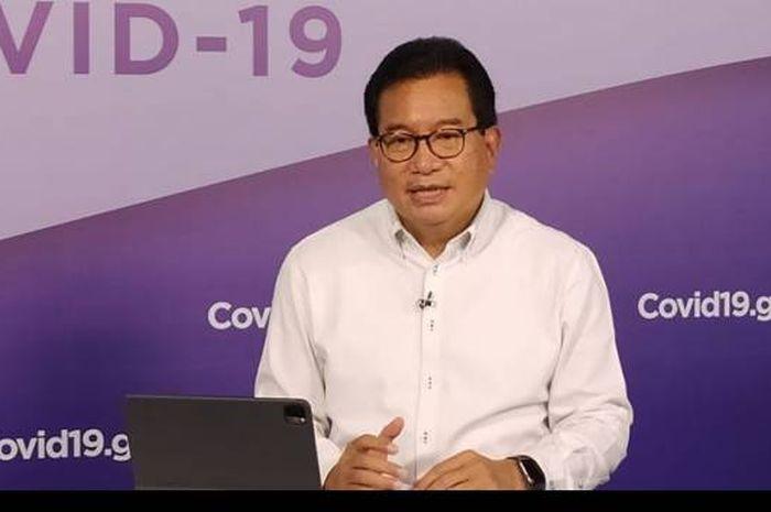 Juru bicara Satgas Penanganan COVID-19, Prof. Wiku Adisasmito