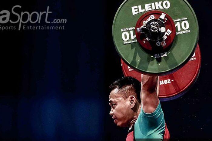 Eko Yuli Irawan mempersembahkan medali perak untuk Indonesia di Olimpiade Tokyo 2020, Minggu (25/7/2021).