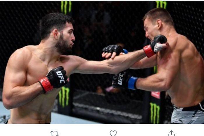 Duel Nassourdine Imavov vs Ian Heinisch di UFC Vegas 32, Minggu (25/7/2021) WIB.