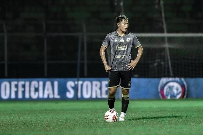 Bek sayap Arema FC, Rizky Dwi Febrianto