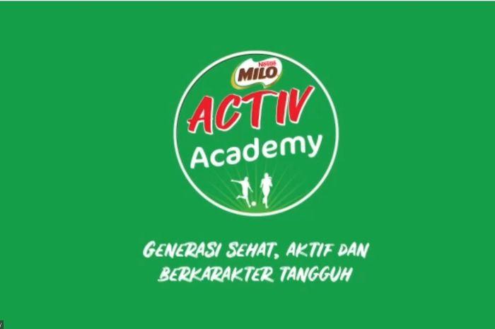 MILO meluncurkan program MILO Activ Academy ecara virtual pada 28 Juli 2021
