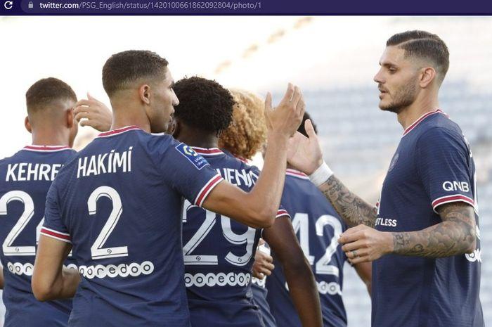 Rekor unbeaten atau tak terkalahkan Paris Saint-Germain dalam laga pramusim nyaris hancur di tangan Sevilla dalam uji coba terakhir Les Parisiens.