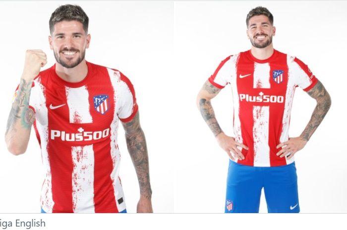 Pemain baru Atletico Madrid, Rodrigo de Paul.