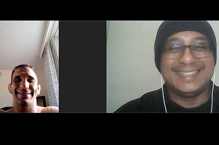 Wawancara petarung kelas bantam UFC, Rani Yahya, dengan Bolasport.com.