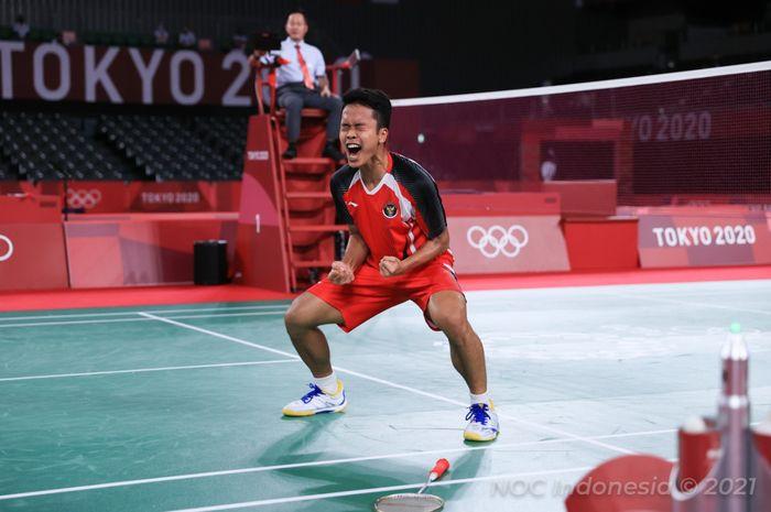 Target Baru Anthony Sinisuka Ginting Setelah Rebut Medali Olimpiade Tokyo 2020 thumbnail