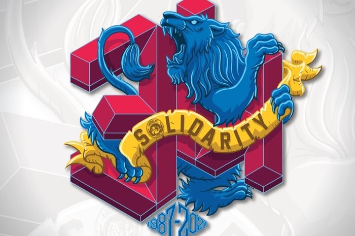 Logo dan Slogan ulang tahun Arema FC yang ke-34
