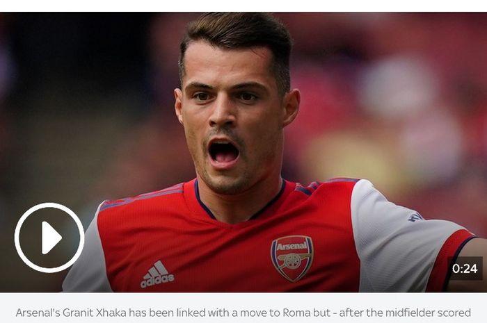 Gelandang Arsenal, Granit Xhaka.