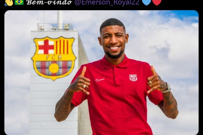 Bek sayap anyar Barcelona, Emerson Royal
