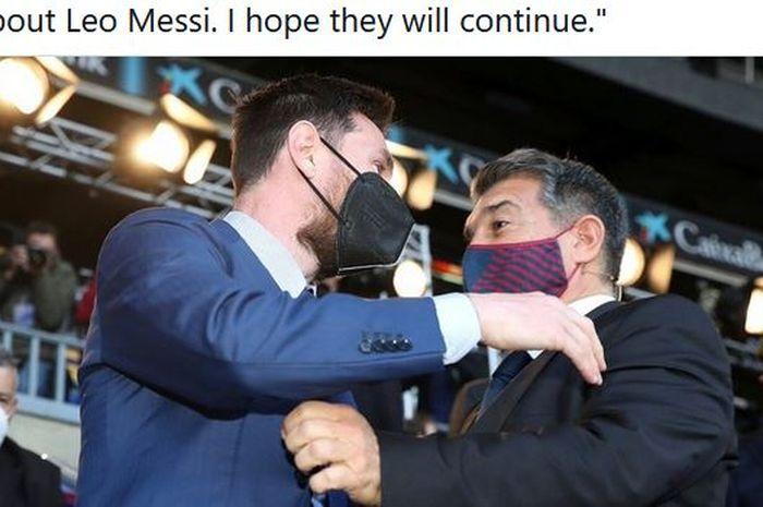 Ternyata Ini Biang Keladi yang Bikin Lionel Messi Hengkang dari Barcelona, Masalah Gaji? thumbnail
