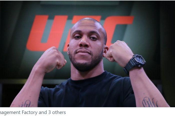 Petarung kelas berat UFC, Ciryl Gane.