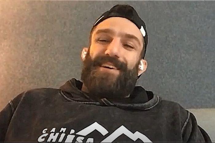 Petarung kelas welter UFC, Michael Chiesa, dalam wawancara dengan Juara.net, Rabu (4/8/2021).