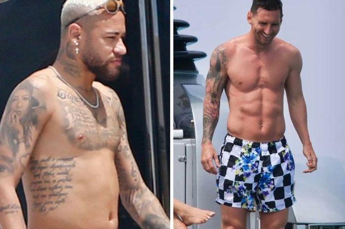 Kondisi fisik Neymar dibanding Lionel Messi