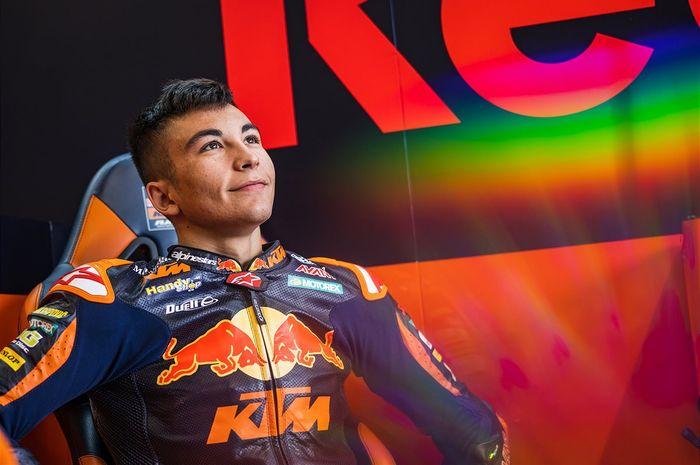 Pantas Yamaha Kebelet Rekrut, Rookie Moto2 Dekati Rekor Marc Marquez Usai Menangi GP San Marino thumbnail
