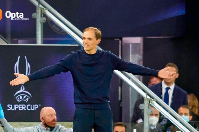 Thomas Tuchel resmi menjadi pelatih Chelsea pertama yang sanggup mengawinkan trofi Liga Champions dan Piala Super Eropa.
