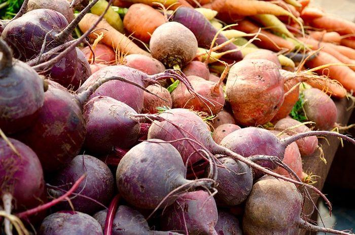 Manfaat buah bit bagi kesehatan, seperti mencegah pikun.
