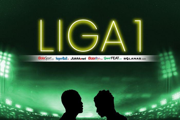 Ilustrasi Liga 1.