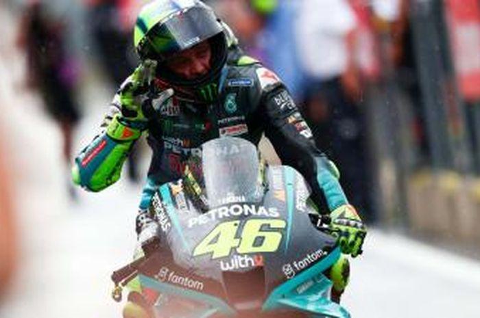 Valentino Rossi punya permintaan terakhir sebelum pensiun.