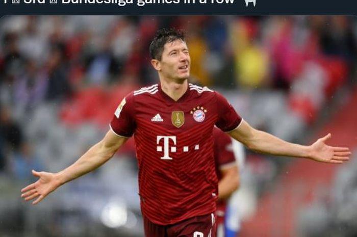 Bomber Bayern Muenchen, Robert Lewandowski.