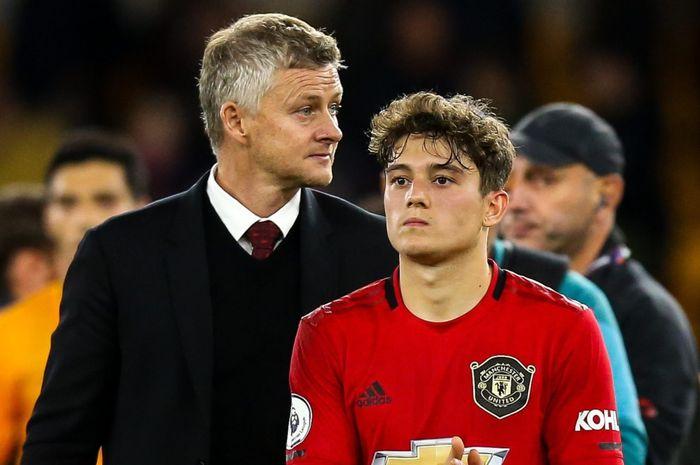 Ole Gunnar Solskjaer dan Daniel James harus berpisah dari Manchester United.