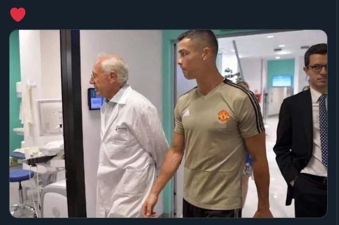 Pesan Sederhana Cristiano Ronaldo kepada Rekan Setimnya di Man United thumbnail