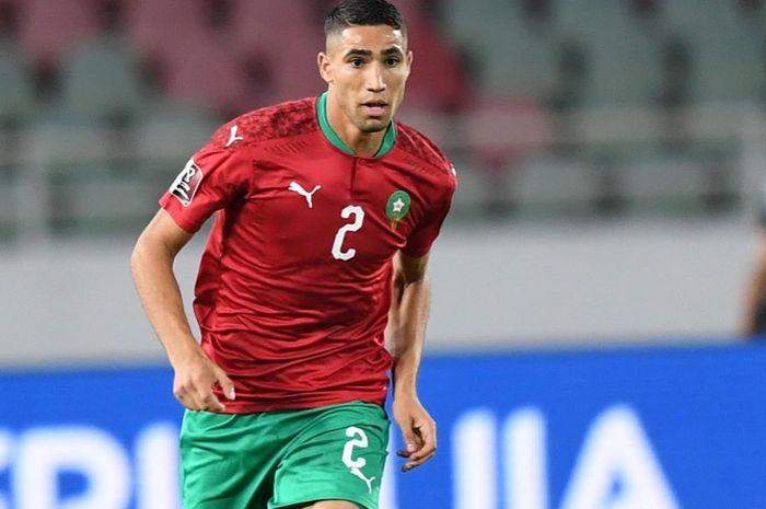 Achraf Hakimi, Timnas Maroko.