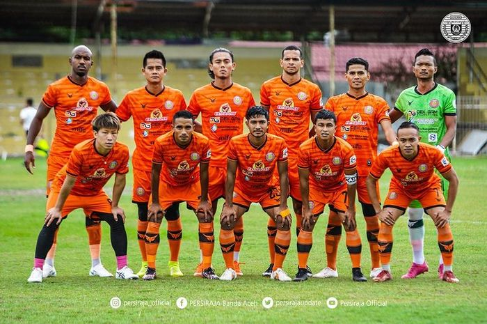Skuad Persiraja Banda Aceh dalam mengarungi  Liga 1 2021