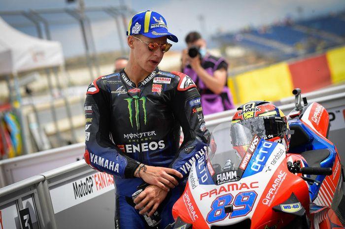 Jadwal MotoGP Aragon 2021, pembalap tim Monster Energy Yamaha, Fabio Quartararo enggak yakin bisa podium.