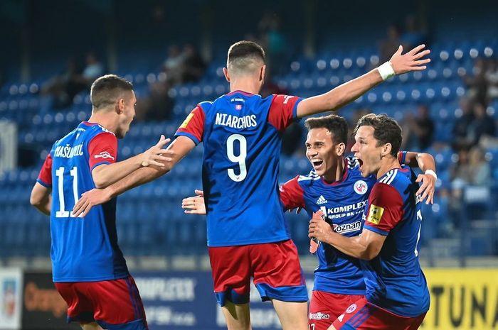Egy Maulana Vikri tampil perdana untuk FK Senica ketika menjamu FK Pohronie dalam lanjutan pekan ke-7 Liga Slovakia di Stadion OMS Arena, Sabtu (11/9/2021) malam.