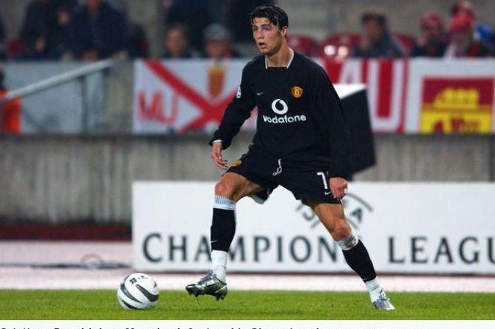Debut megabintang Manchester United, Cristiano Ronaldo, di ajang Liga Champions berakhir dengan hasil yang mengecewakan.