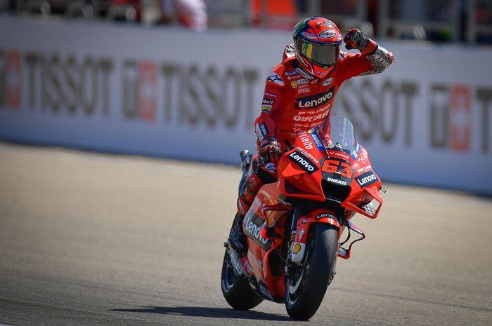 Francesco Bagnaia punya kans sangat besar untuk kembali menang di MotoGP San Marino 2021 akhir pekan ini.