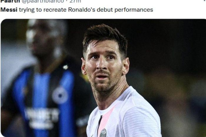 Kedatangan megabintang Argentina, Lionel Messi, dianggap sia-sia dan justru diklaim membuat Paris Saint-Germain jadi jauh lebih lemah.