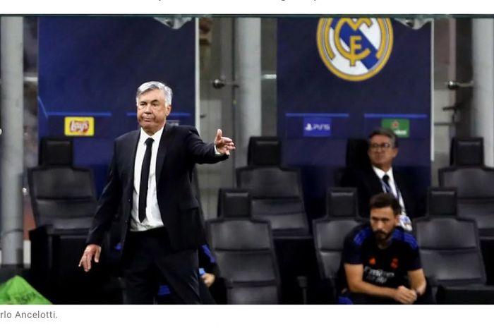 Pelatih Real Madrid, Carlo Ancelotti