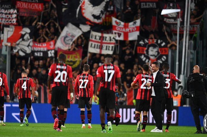 AC Milan memetik hasil imbang dalam lawatannya ke Allianz Stadium, markas Juventus dalam lanjutan Liga Italia 2021-2022.