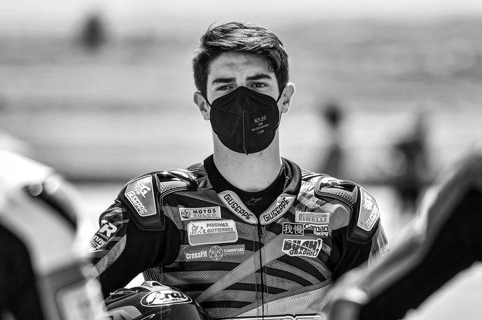 Pembalap FIM Supersport 300 Championship asal Spanyol, Dean Berta Vinales.