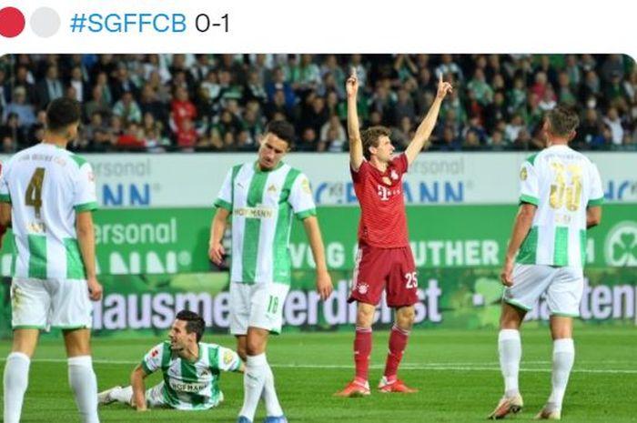 Bayern Muenchen cetak 23 gol dalam sekejap, Julian Nagelsmann ukir sejarah dan membawa Bayern memuncaki klasemen Bundesliga.