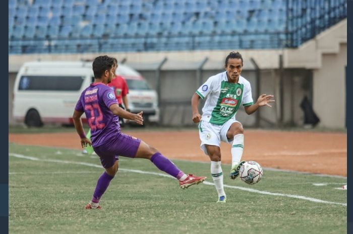 Laga Persik Kediri vs PSS Sleman dalam lanjutan pekan ke-6 Liga 1 2021.