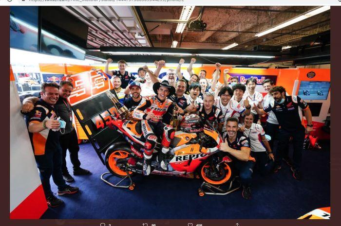 Kemenangan di COTA Jadi yang Terakhir Bisa Didapatkan Marc Marquez pada MotoGP 2021 thumbnail
