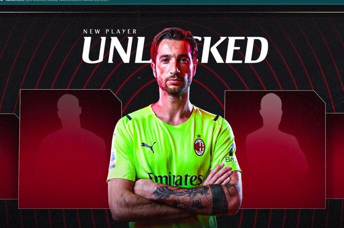 Mantan kiper AS Roma, Antonio Mirante resmi direkrut oleh AC Milan.