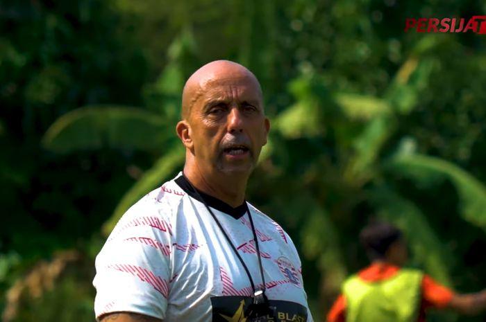 Pelatih fisik Persija Jakarta, Alberto Lungherini