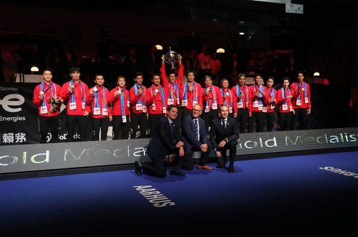 Gelar Juara Piala Thomas Indonesia Diwarnai Keributan Netizen Soal Komentar Menpora thumbnail