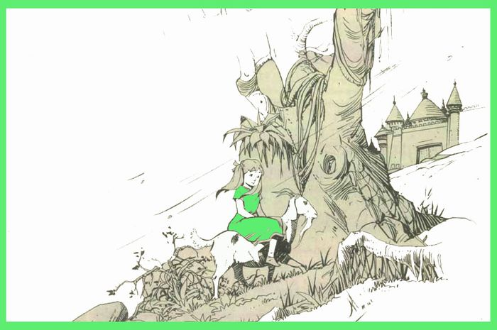 Mantel hijau