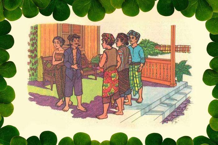 Petani Tua Putrinya Halaman Bobo Grid Id Puterinya Gambar Dongeng
