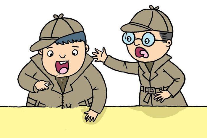 Dua detektif cilik yang cerdik