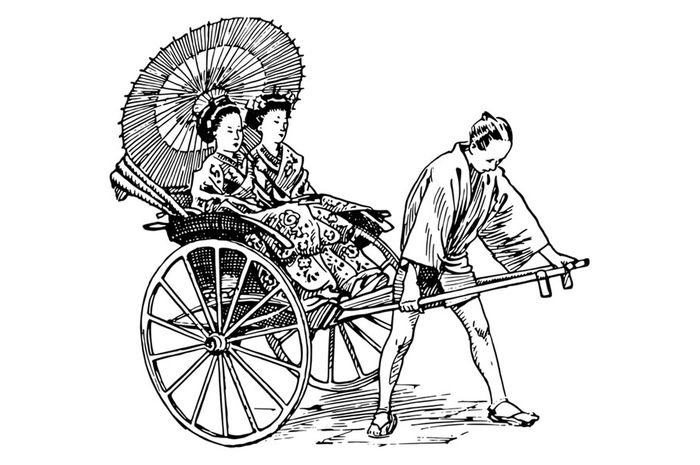 Jinrikisha, nenek moyangnya becak