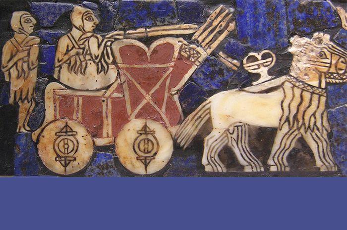 Roda sudah dipakai oleh bangsa Sumeria