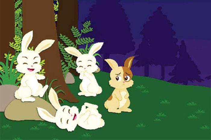 Asal muasal belang si kelinci