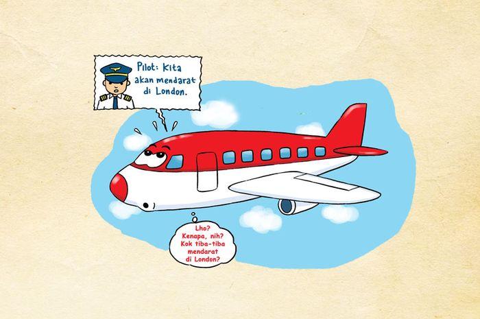 Kisah Pesawat yang Melawan Debu Vulkanik